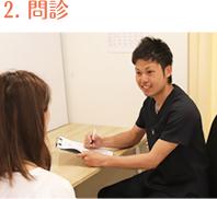 神戸市灘区 六甲道おはな整骨院の問診