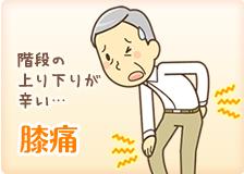 神戸市灘区 六甲道おはな整骨院の膝痛施術