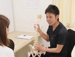 坐骨神経痛・ヘルニア施術方法のご説明
